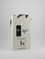 Paco Rabanne Black XS for men 3x15ml - Trio Bag