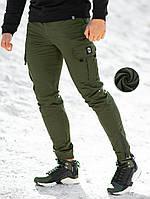 Штаны карго зимние мужские BEZET Warrior khaki '20