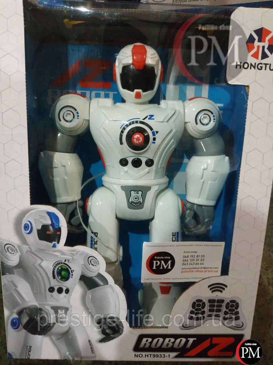 Робот на радиоуправлении Mechanical Master HT9933-1, свет+звук, red