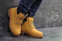 Мужские зимние ботинки в стиле Timberland, горчичные 45 (28,6 см)