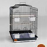 ЗОЛОТА Клітка для папуги 46*36*71см, фото 2