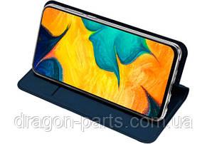 Чехол книжка Dux Ducis для Samsung Galaxy A30 синий, фото 2