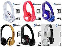 Наушники беспроводные Beats Solo HD S460, Bluetooth наушники с mp3 плеером, (цвета в ассортименте)