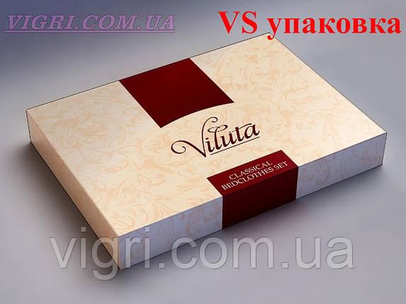 Постельное белье евро комплект, сатин, Вилюта «Viluta» VS 302, фото 2