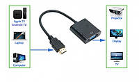 Конвертер line HDMI to VGA с аудио, фото 1