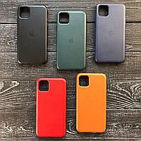 Чехол LEATHER CASE ORIGINAL для iPhone 11