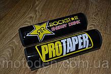 Подушка на распорку руля кроссового мотоцикла Rockstar 20х5см