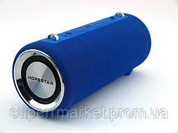 Hopestar H39 портативная влагозащищенная портативная колонка 10W USB, Bluetooth FM, синяя, фото 3
