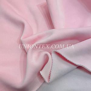 Футер трехнитка с начесом розовая