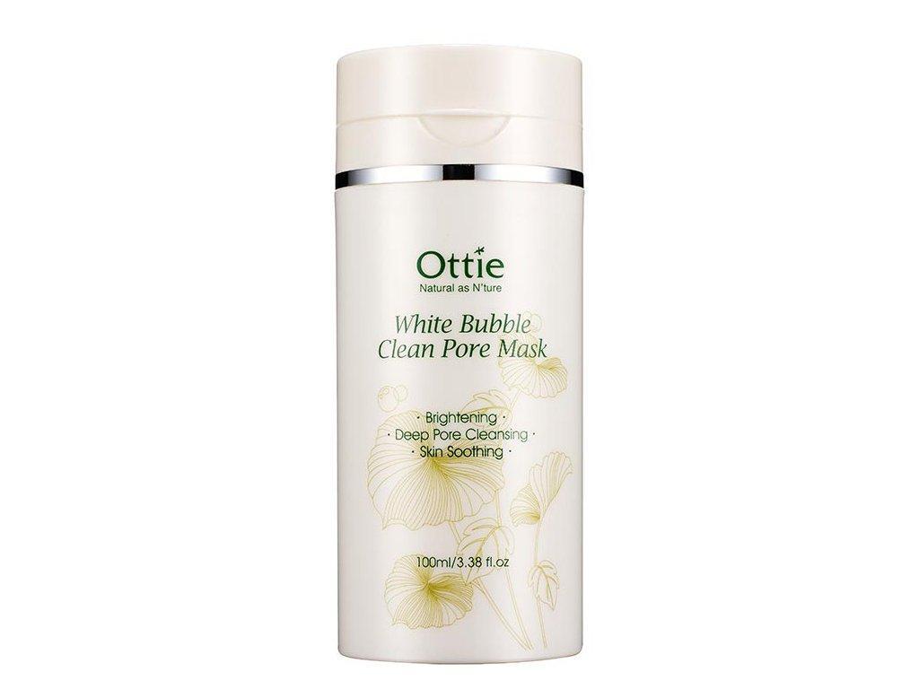 Очищающая маска для лица Ottie White Bubble Clean Pore Mask Объем 100 мл