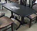 Стол Аврора обеденный раскладной деревянный 101(+35)*69 венге, фото 2