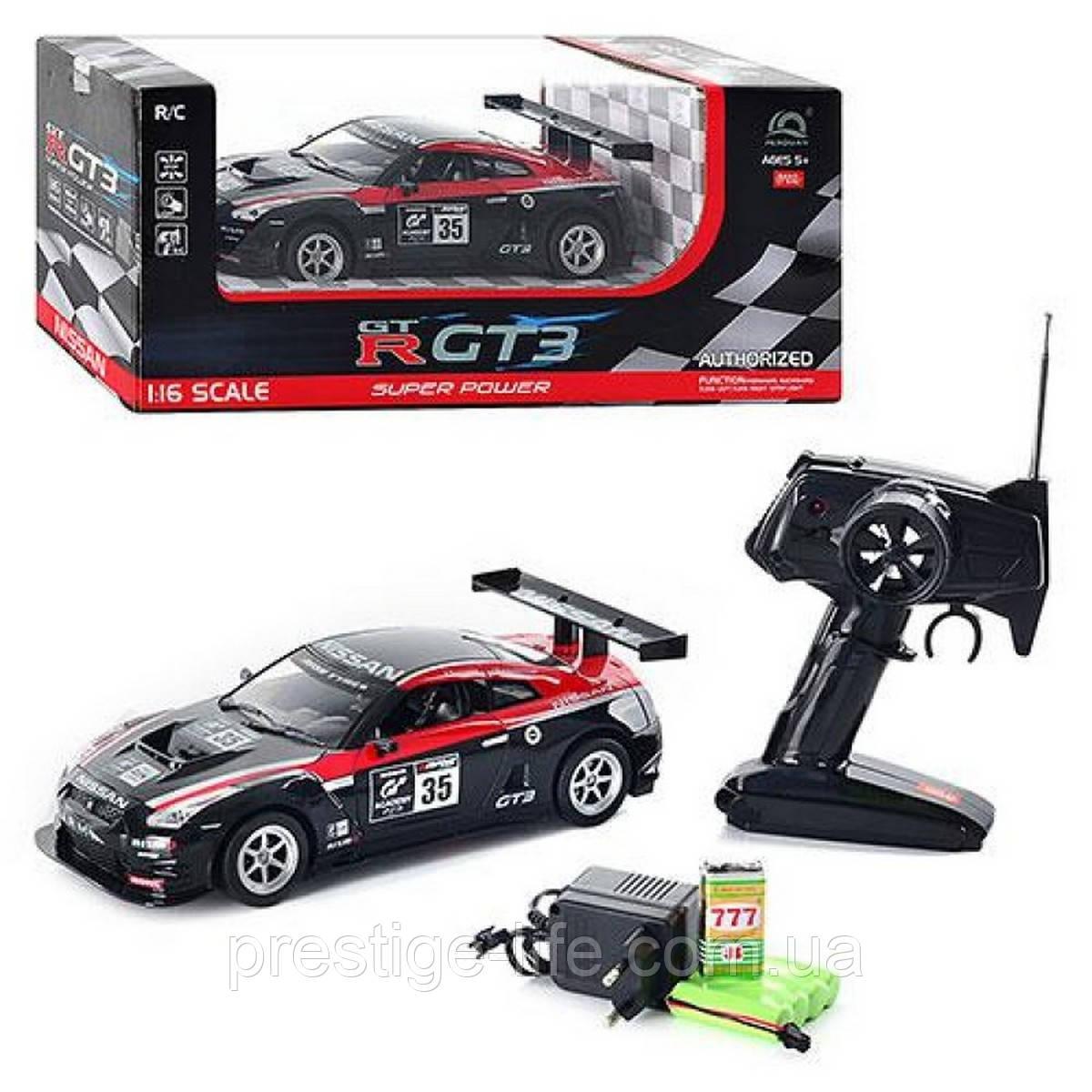 Машинка на радіоуправлінні Nissan GT-R (HQ200131A), автомобіль радіокерований