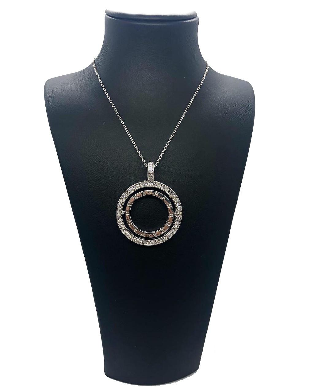 "Двухсторонний вращающийся кулон из серебра 925 My Jewels в стиле Pandora модель ""Вращающиеся сердца"""