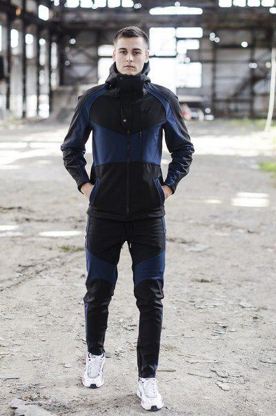 "Куртка Pobedov Soft Shell Jacket ""Klon""+штаны trousers ""Vice City"""