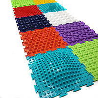 Ортопедический коврик пазл для детей Ортодон, без запаха, сертификат, комплект из 10 пазлов