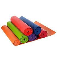 Коврик для занятия йоги и фитнеса OSPORT Колибри 15828 180x60x0.5 см, йогамат