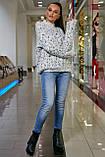 S328/7 Женский теплый свитер, фото 7