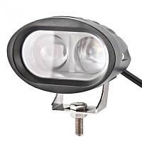 Дополнительная LED овальная фара BELAUTO, фото 1