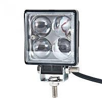 Дополнительная LED квадратная фара BELAUTO, фото 1
