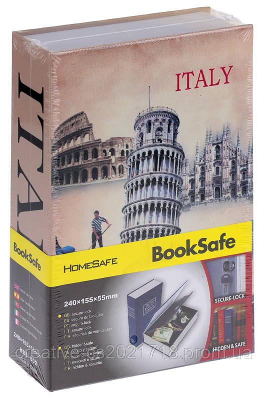 "Книга - сейф ""Италия "" средняя, 24 см. ( Pisa / Italy )"