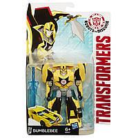 Бамблби 14 см, серия Воины Роботы под прикрытием - Bumblebee, Warriors, Rid, Hasbro - 143364