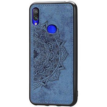 TPU+Textile чехол Mandala с 3D тиснением (без упак.) для Samsung Galaxy A10s