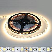Светодиодная лента 3000к SMD 5050 60 LED/мт. IP20, фото 1