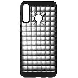 Чехол для Huawei P30 lite, Grid case, ультратонкий, дышащий