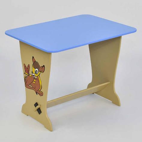 """Гр Стол - парта 6223 """"Оленёнок Бэмби"""" - цвет голубой (1) """"МАСЯ"""", фото 2"""