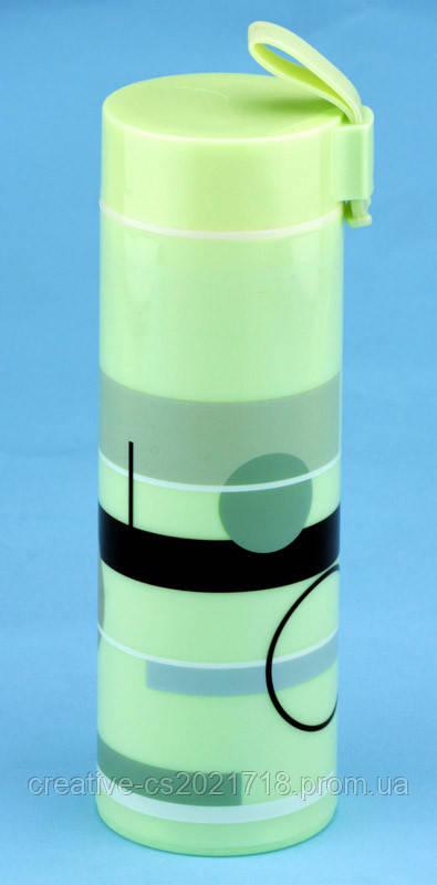 Термобутылка 33 wishes ABSTRACTION зеленая (BT58C)