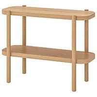 IKEA LISTERBY Консольный стол, белый окрашенный дуб (704.090.38)