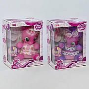 Детская интерактивная лошадка Розовая пони / Музыкальная игрушка пони «My Little Pony» 66212