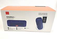 Портативная колонка bluetooth блютуз акустика для телефона мини с флешкой повербанк черная charge 2+, фото 3