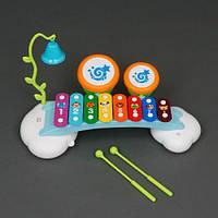Игрушечный ксилофон с палочками HuiLe Toys 909