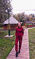 Вязанный теплый прогулочный костюм Комфорт стайл