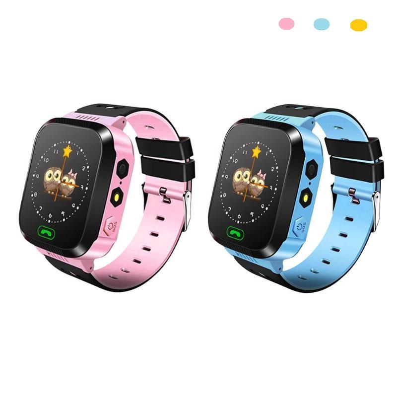 Детские смарт часы с GSM трекером Q527 с камерой и фонарём