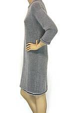 Тепле зимове плаття з люрексом преміум клас, фото 3