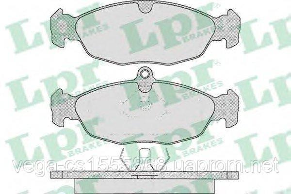 Тормозные колодки LPR 05P599 на Opel Corsa / Опель Корса