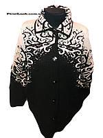 Женская вязаная кофта с 50-56 размер, фото 1