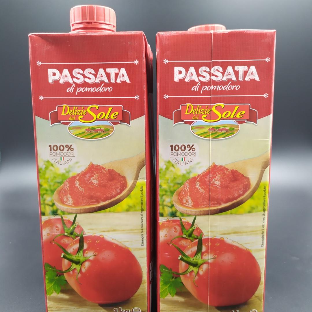 "Томатная паста ""PASSATA DI POMODORO"" 1л"