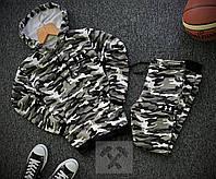 Мужской утепленный спортивный костюм Under Armour, камуфляжный