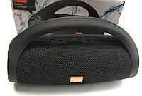 Портативная колонка bluetooth блютуз акустика для телефона с флешкой повербанк черная JC-222