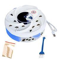 Ловушка для насекомых Usb Electric Fly Trap Mosquitoes, электрическая мухоловка