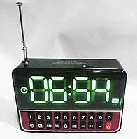 Приймач з годинником і будильником WS 1513 + Clock