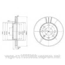 Тормозной диск Delphi BG2278 на Opel Astra / Опель Астра
