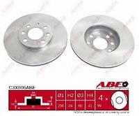 Тормозной диск Abe C3X006ABE на Opel Astra / Опель Астра