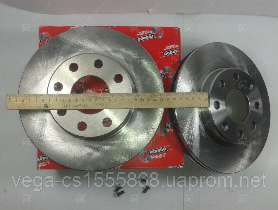 Тормозной диск Ferodo DDF1279 на Opel Astra / Опель Астра