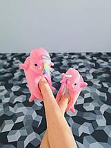 Детские домашние тапочки единороги розовые размер 26 - 33, фото 2