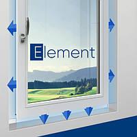 Окно Kömmerling 70 мм Германия с проветриванием защитное безопасное