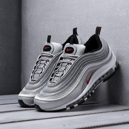 Мужские кроссовки в стиле Nike Air Max 97 Silver